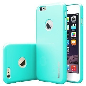 iPhone 6 Plus/6S Plus Caseology Drop Protection TPU-Kotelo Turkoosi / Mintunvihreä