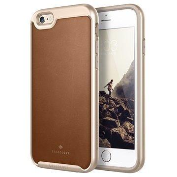 iPhone 6 Plus/6S Plus Caseology Envoy Kotelo Ruskea / Kulta