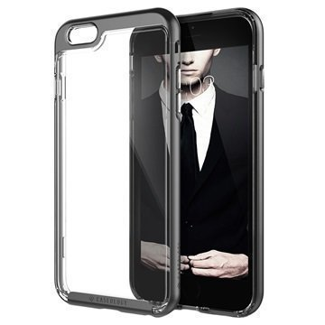 iPhone 6 Plus/6S Plus Caseology Skyfall Kotelo Musta