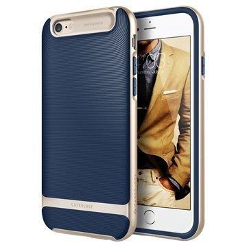 iPhone 6 Plus/6S Plus Caseology Wavelength Suojakuori Laivastonsininen / Kulta