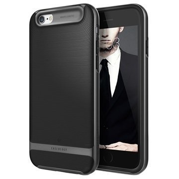 iPhone 6 Plus/6S Plus Caseology Wavelength Suojakuori Musta