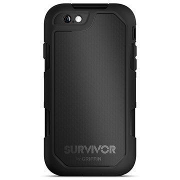 iPhone 6 Plus/6S Plus Griffin Survivor Summit Kotelo Musta