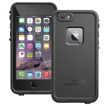 iPhone 6 Plus/6S Plus LifeProof Fre Vedenkestävä Kotelo Musta