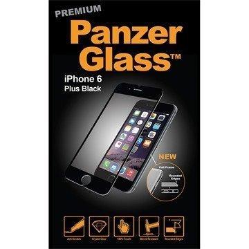 iPhone 6 Plus/6S Plus PanzerGlass Premium Full Frame Näytönsuoja Musta
