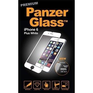 iPhone 6 Plus/6S Plus PanzerGlass Premium Full Frame Näytönsuoja Valkoinen