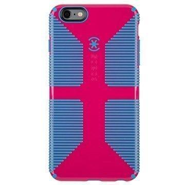 iPhone 6 Plus/6S Plus Speck CandyShell Grip Kotelo Vaaleanpunainen Huulipuna / Närhensininen
