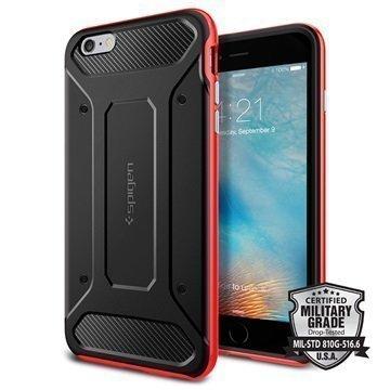 iPhone 6 Plus/6S Plus Spigen Neo Hybrid Carbon Kotelo Punainen