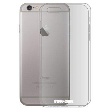 iPhone 6 Plus/6S Plus Star-Case Atlantis Suojakuori Läpinäkyvä / Musta