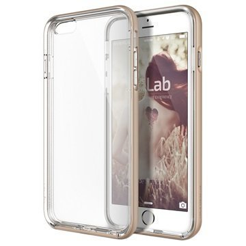 iPhone 6 Plus/6S Plus Verus Crystal Bumper Series Kotelo Hohtava Kulta
