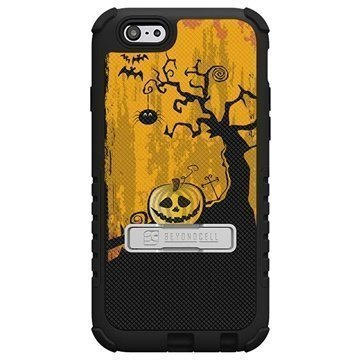 iPhone 6 PlusBeyond Cell Tri Shield Design Hybrid Suojakuori Pumpkin