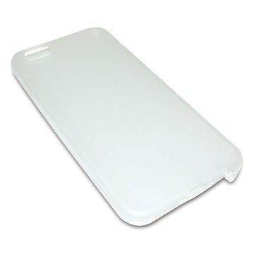 iPhone 6 Sandberg Pehmeä Suojakuori Valkoinen