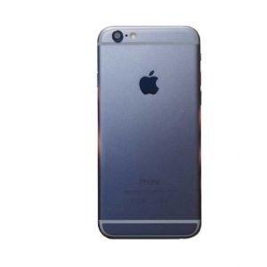 iPhone 6 Takakansi / runko + pienosat Harmaa / Mustalle näytölle