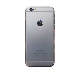 iPhone 6 Takakansi / runko + pienosat Hopea / Valkoiselle näytölle