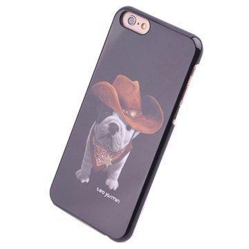 iPhone 6 Teo Jasmin Kova Kotelo Teo Cowboy Musta