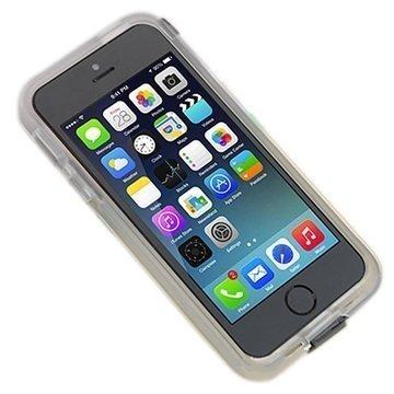 iPhone 6 UreParts Kova Kotelo & USB-Latauskaapeli Läpinäkyvä Musta