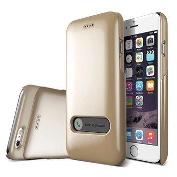 iPhone 6 Verus Slim Hard Slide Series Kotelo Hohtava Kulta