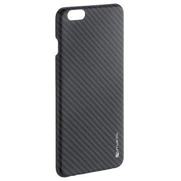 iPhone 6/6S 4smarts Nardo Kevlar Suojakuori Hiilikuitu / Musta