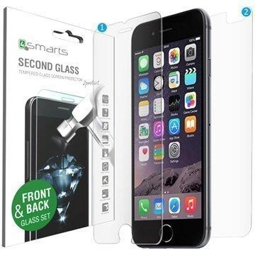 iPhone 6/6S 4smarts Second Glass Näytönsuojasetti
