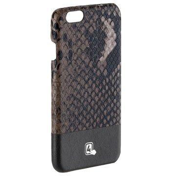 iPhone 6/6S 4smarts Sonora Kotelo Musta