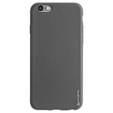 iPhone 6/6S 4smarts UltiMAG Sandburst Kotelo Musta