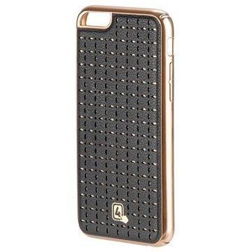 iPhone 6/6S 4smarts Verona Clip Kotelo Kulta / Musta