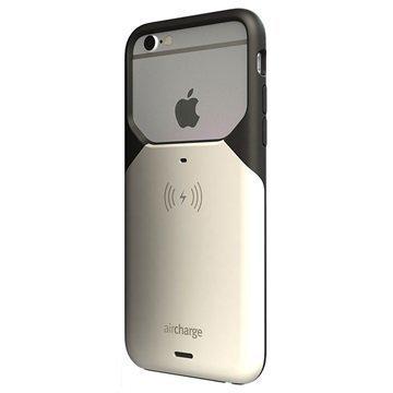 iPhone 6/6S AirCharg Langaton Latauskuori Musta / Valkoinen