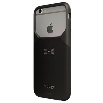 iPhone 6/6S AirCharge Wireless Charging Case Black