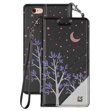 iPhone 6/6S Beyond Cell Infolio C Lompakkokotelo Purple Night