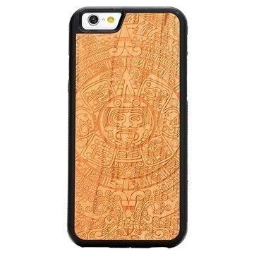 iPhone 6/6S Carved Traveler Kotelo Atsteekkien Kalenteri