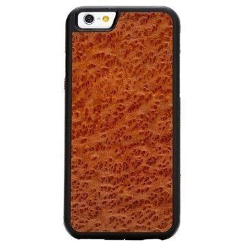 iPhone 6/6S Carved Traveler Kotelo Punapuupahka