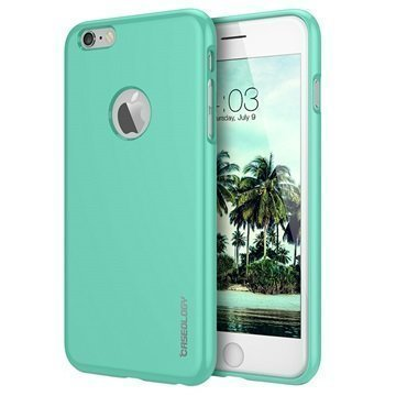 iPhone 6/6S Caseology Drop Protection TPU-Kotelo Turkoosi / Mintunvihreä