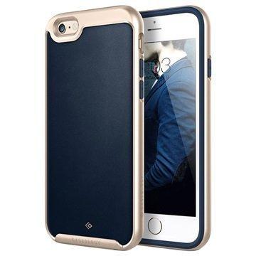 iPhone 6/6S Caseology Envoy Kotelo Tummansininen / Kulta