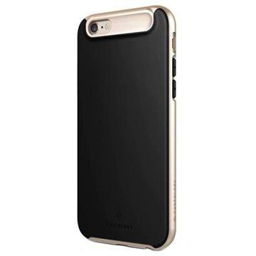 iPhone 6/6S Caseology Glacier Suojakuori Musta / Kulta