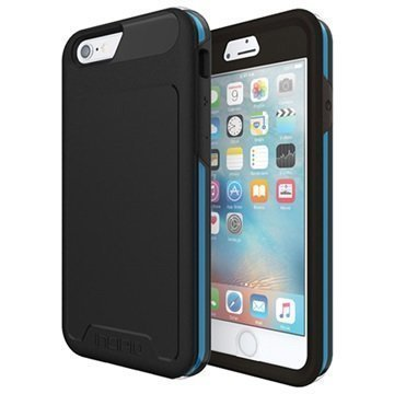 iPhone 6/6S Incipio Performance Level 5 Kotelo Musta / Syaani