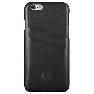 iPhone 6/6S JT Berlin Nahkakotelo Musta
