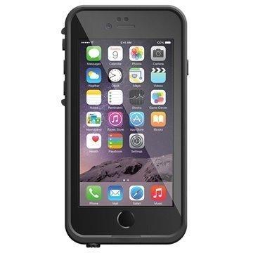 iPhone 6/6S LifeProof Fre Vedenkestävä Kotelo Musta