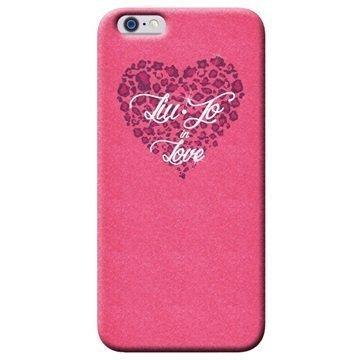 iPhone 6/6S Liu-Jo Love TPU Suojakuori Pinkki