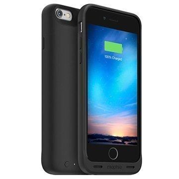 iPhone 6/6S Mophie Juice Pack Reserve Vara-akkukuori Musta