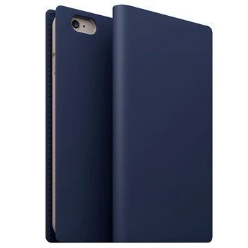iPhone 6/6S SLG Design D5 Leather Case Navy Blue
