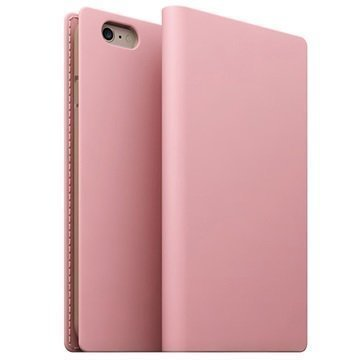 iPhone 6/6S SLG Design D5 Leather Case Pink