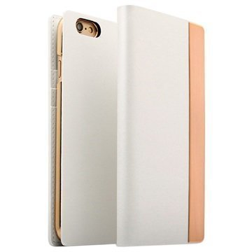 iPhone 6/6S SLG Design D5 Metal Edition Wallet Case White