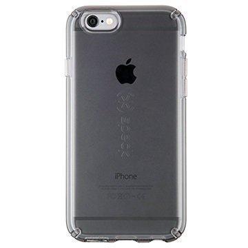 iPhone 6/6S Speck CandyShell Clear Kuori Onyksinmusta