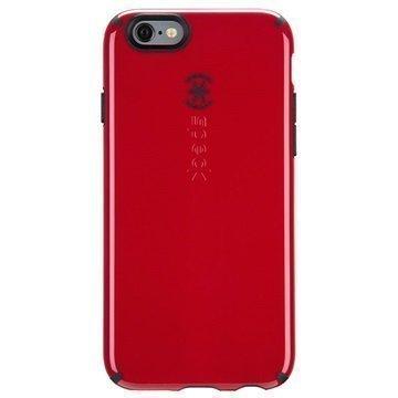iPhone 6/6S Speck CandyShell Kuori Punainen / Musta