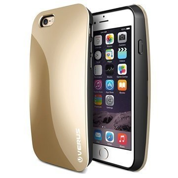 iPhone 6/6S Verus Pebble Series Kotelo Hohtava Kulta