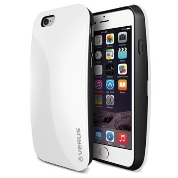 iPhone 6/6S Verus Pebble Series Kotelo Lumenvalkoinen