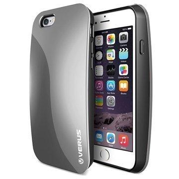 iPhone 6/6S Verus Pebble Series Kotelo Teräksisen Hopea