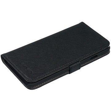 iPhone 6S Nevox Ordo Folio Kotelo Musta / Harmaa