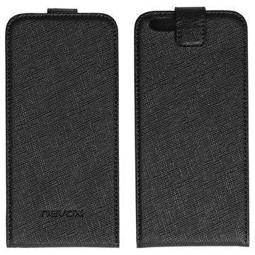 iPhone 6S Nevox Relino Läppäkotelo Musta / Harmaa