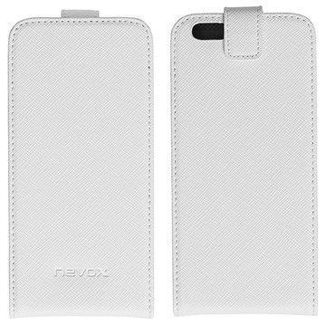 iPhone 6S Nevox Relino Läppäkotelo Valkoinen / Harmaa