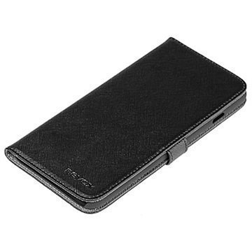 iPhone 6S Plus Nevox Ordo Folio Kotelo Musta / Harmaa